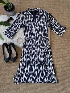 Laundry by Shelli Segal Belted Dress